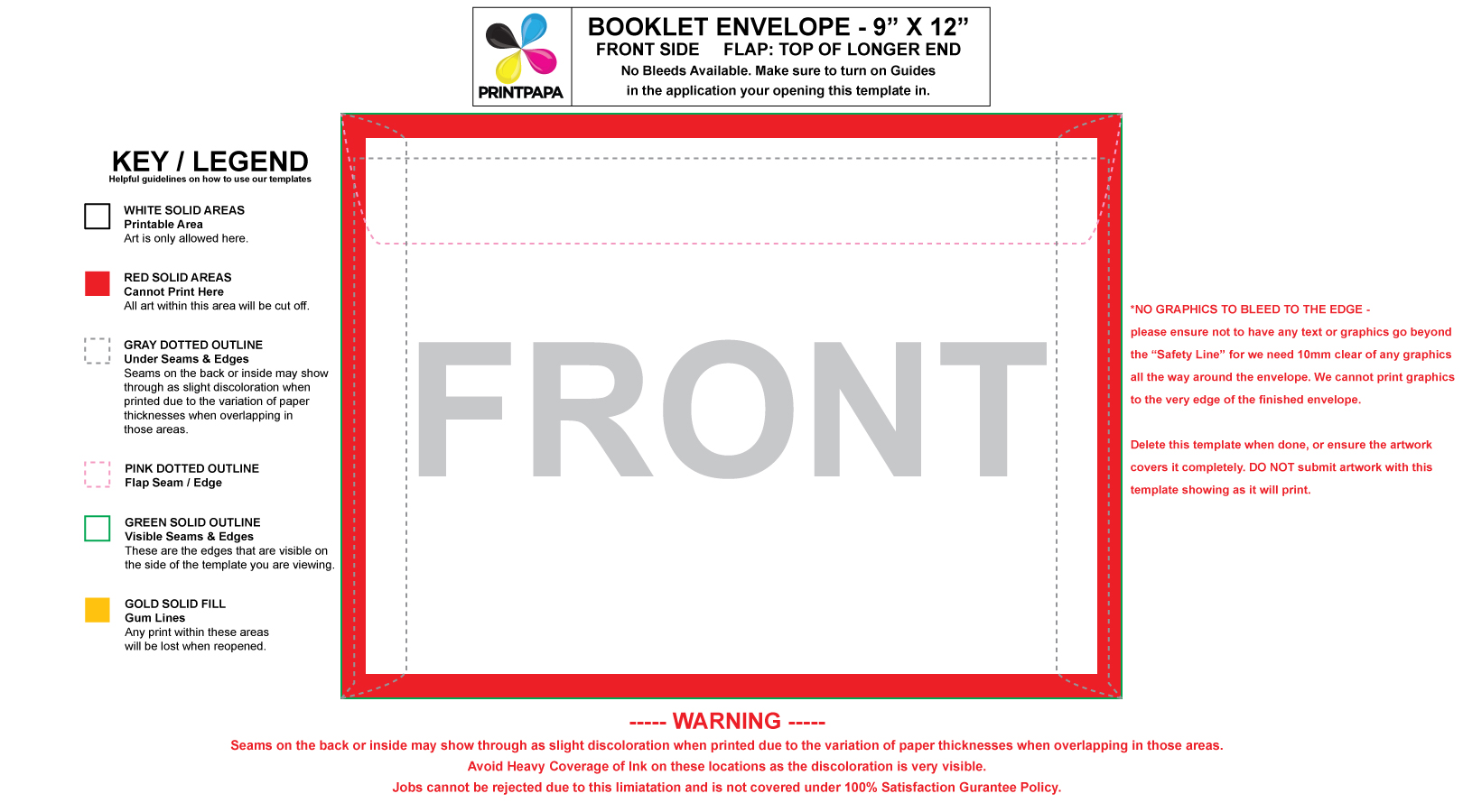 Great Envelope Template Pictures Images Of Standard Size - 6x9 envelope template